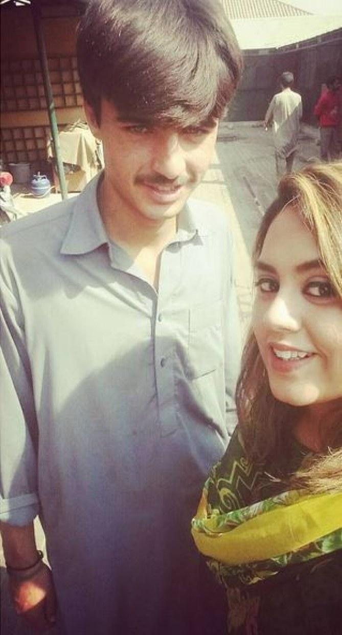 Arshad Khan et Jiah Ali