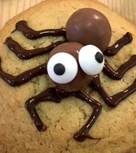 ¡Terroríficamente deliciosas! No te pierdas esta receta de cookies de Halloween