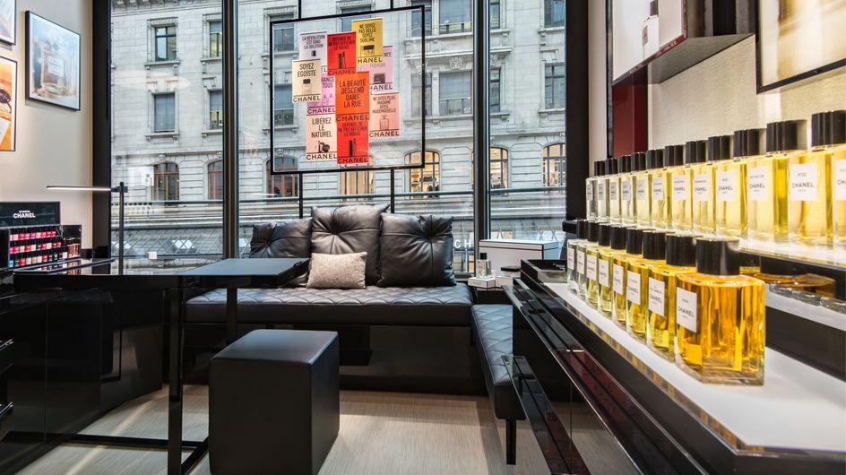 Chanel ouvre sa première boutique dédiée à la beauté en Suisse