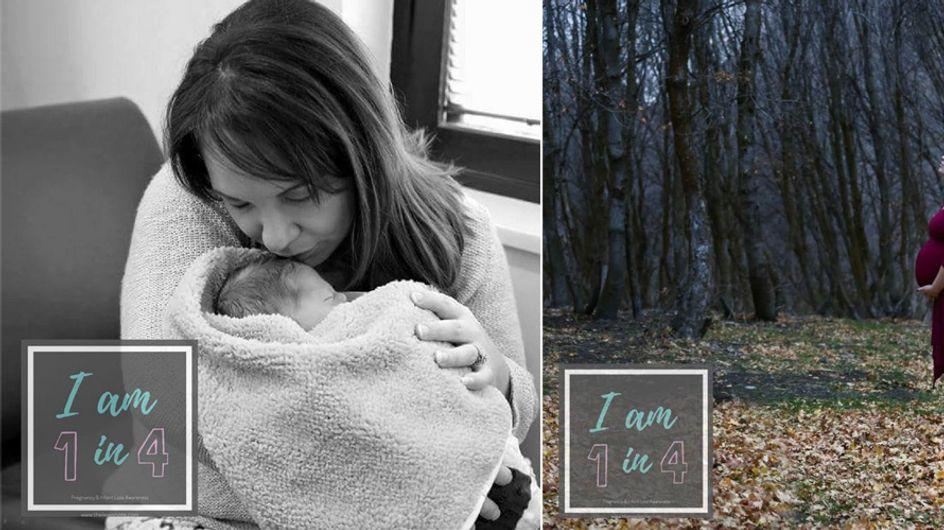 """""""Ich bin 1 von 4"""" - Die Kampagne dieser Mutter spricht ganz offen über Fehlgeburten"""