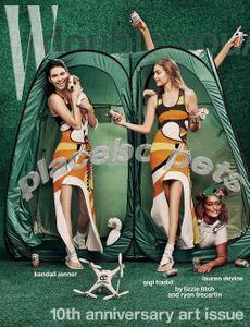 Kendall Jenner et Gigi Hadid pour W Magazine