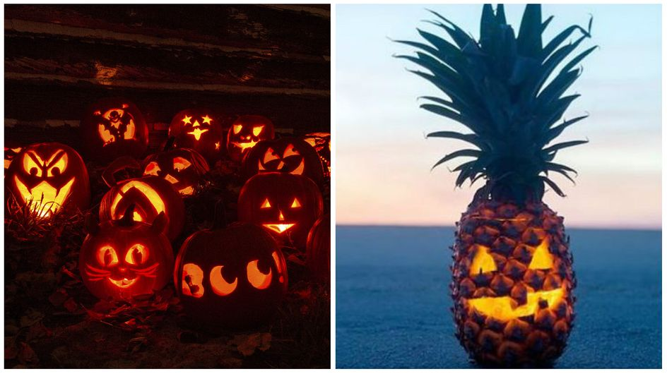 L'ananas, nouvelle tendance Halloween !