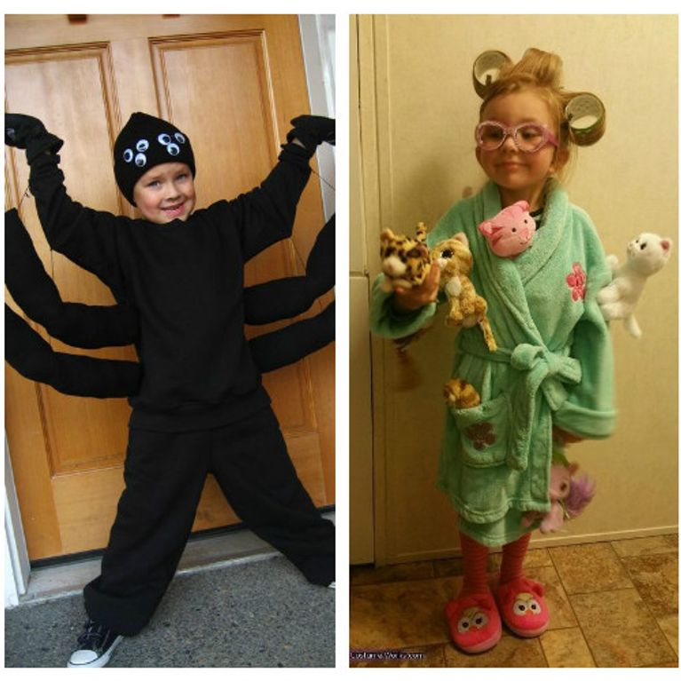 Costume Halloween fai da te: per ragazza, bambini e ...