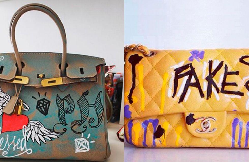 Bolsas de luxo ficam ainda mais exclusivas com o raio customizador!
