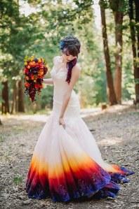 Dip-Dye Brautkleider