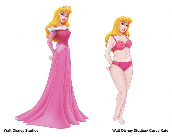 Disney-Prinzessinnen mal anders