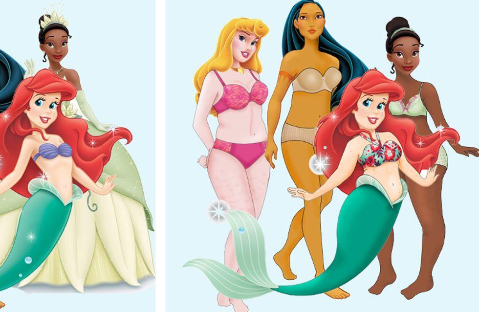 Die Taille ist ja dünner als ihr Hals! Sind Disney-Prinzessinnen ungesunde Vorbilder?