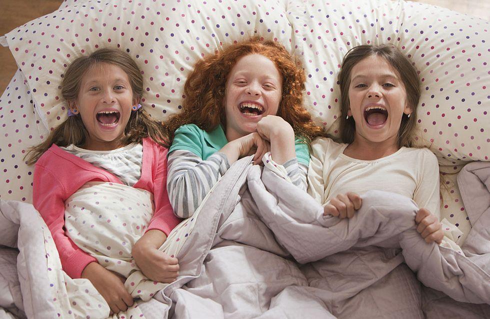 Pour que la première soirée pyjama de votre enfant soit réussie