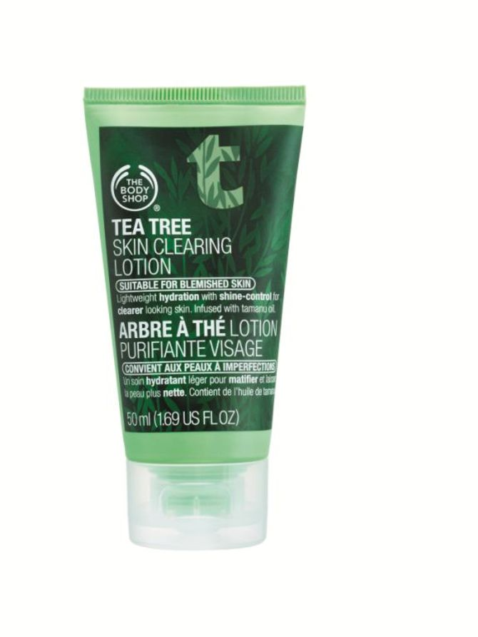 The Body Shop, Loção hidratante facial Tea Tree, R$ 62