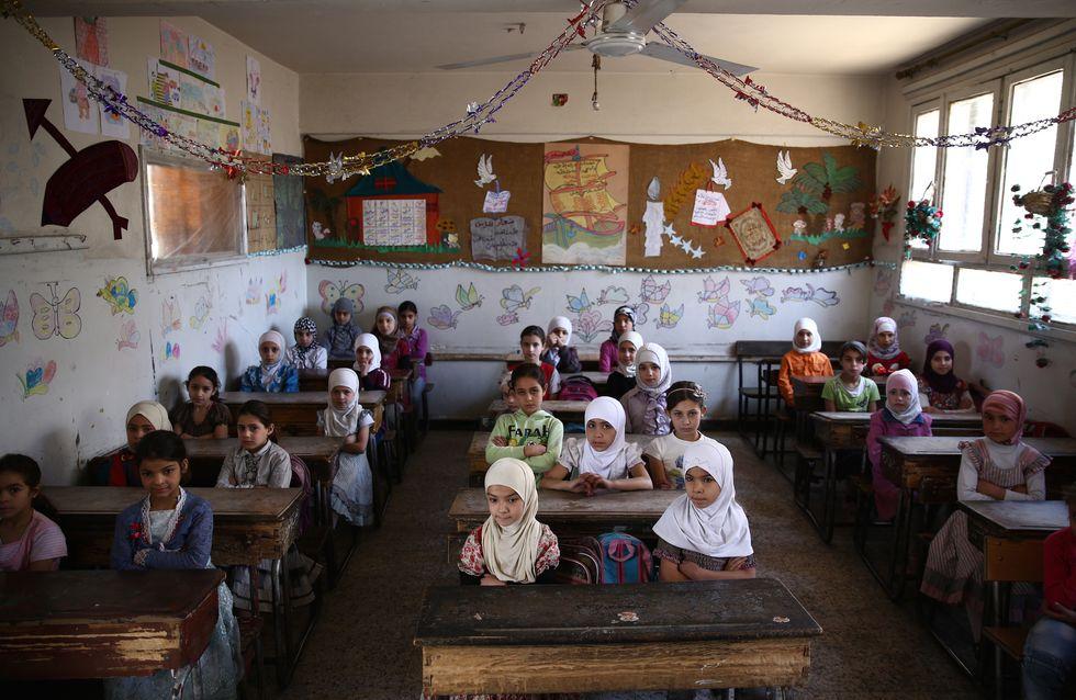 22 enfants tués en Syrie après la frappe d'une école par un raid aérien (Photos)