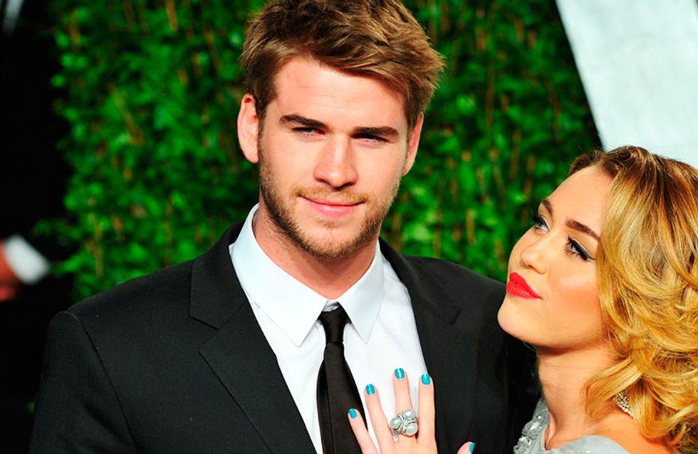 Miley Cyrus confirma que está noiva de Liam Hemsworth (de novo!)