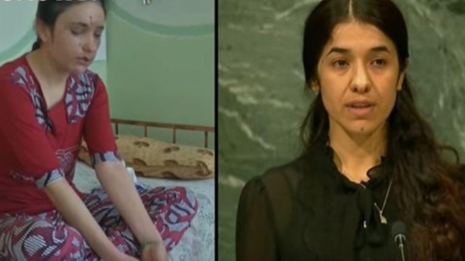 Deux anciennes esclaves sexuelles de Daesh récompensées pour leur combat pour la liberté (Photos)