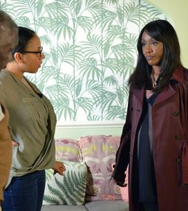 Eastenders 08/11 - Patrick Encourages Libby To Give Denise Another Chance