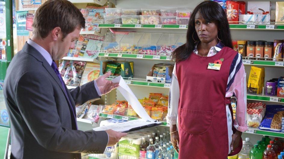 Eastenders 11/11 - Denise Gets Some Surprising News From Zainab