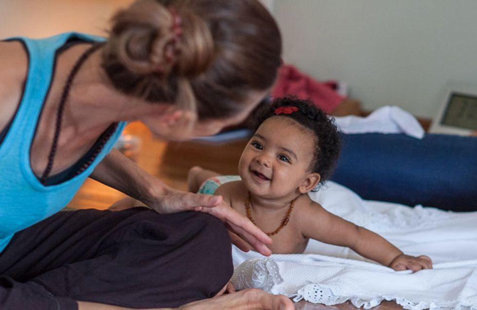 Ioga mãe e bebê: acolhimento para ela e relaxamento para ele