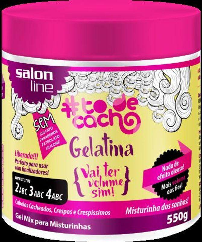 Gelatina vai ter volume sim!, Salon Line, R$ 16