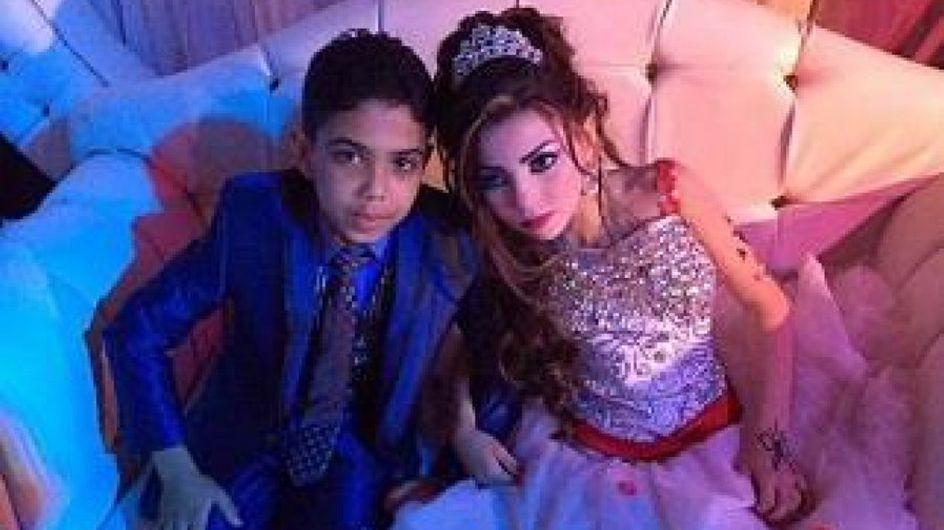 Le mariage de cousins de 11 et 12 ans provoque la colère en Egypte