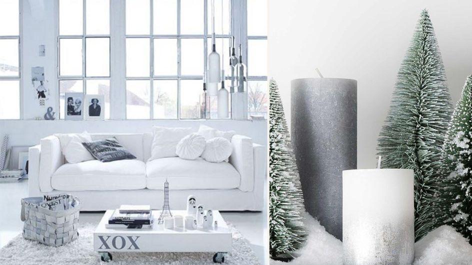 So schön ist der Winter: Stylische Wohnideen in Silber und Weiß für euer gemütliches Zuhause