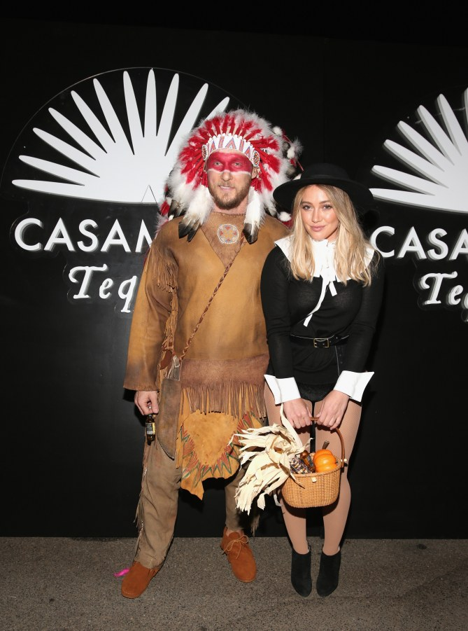 Hilary Duff et son boyfriend Jason Walsh pour Halloween 2016