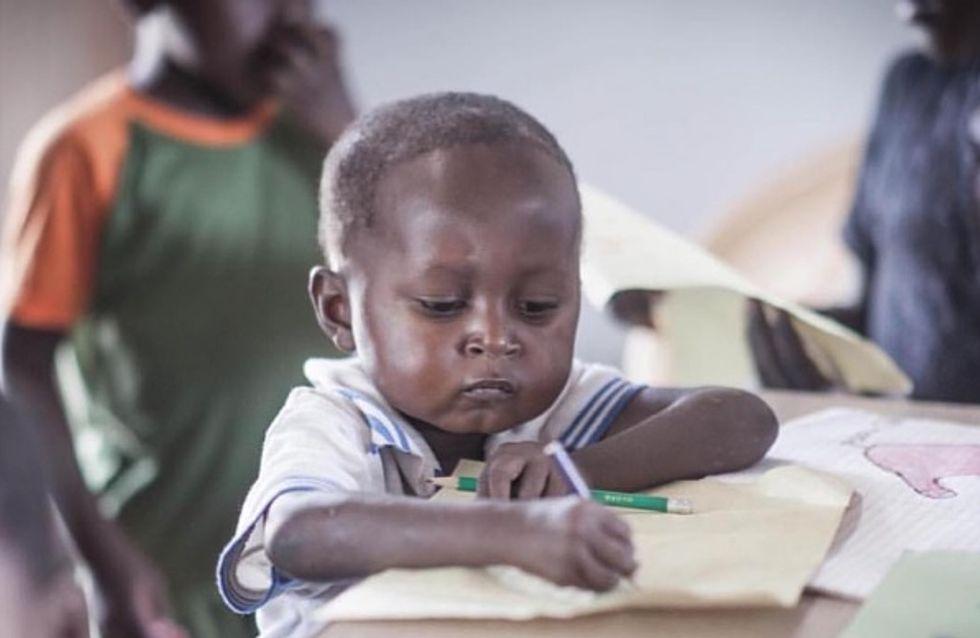 L'image de ce petit garçon ghanéen devenue virale a conduit à un beau projet (Photos)