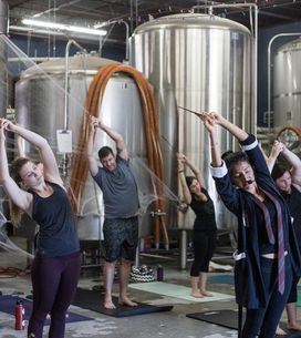 Wingardium Levi-YOGA-sa! This Harry Potter Yoga Class Is Totally Magical