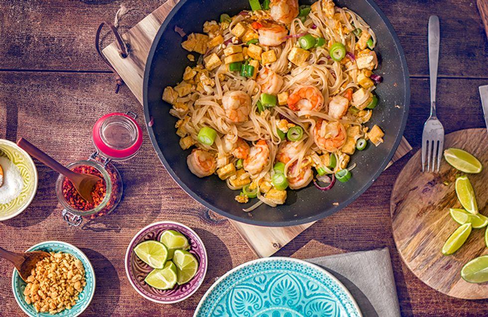 Já provou pad thai? Como fazer o delicioso e saudável prato típico tailandês