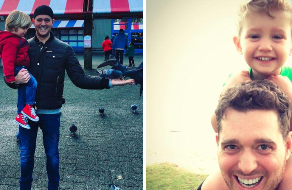 Il figlio di Michael Bublè ha il cancro: il triste annuncio su Facebook del cantante