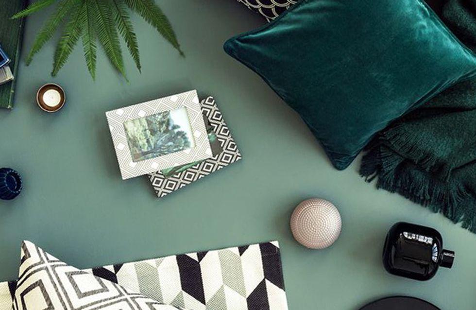 El verde otoñal, el color de la temporada para el hogar