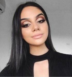Le make-up rose gold
