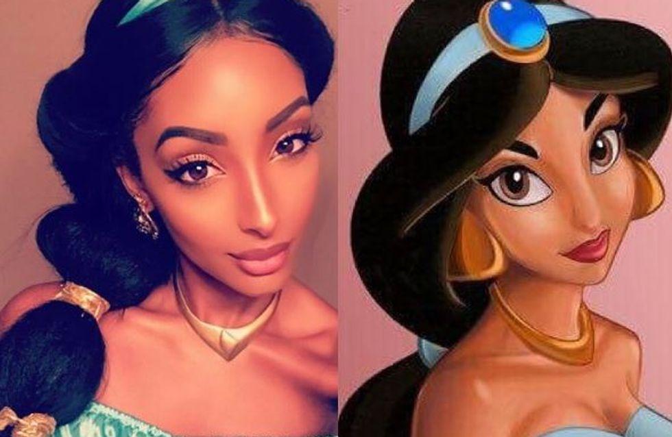 On vous présente Olayinka Mia Noel, le sosie de la princesse Jasmine (Photo)