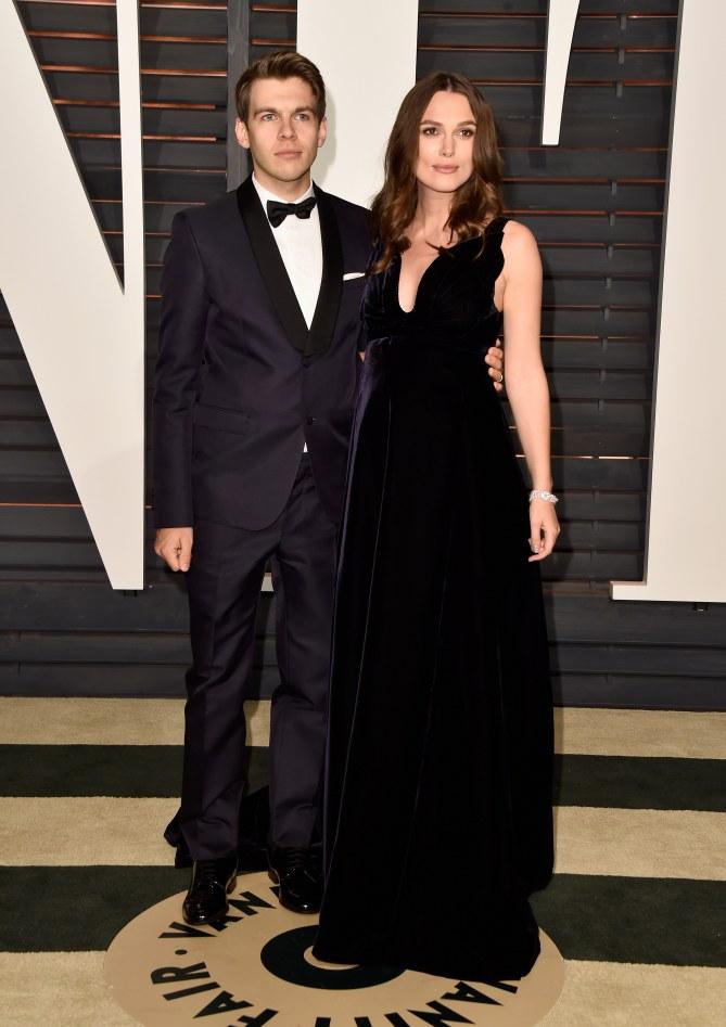 Keira Knightley et son époux James Righton