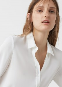 Porter la chemise blanche