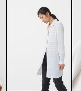 Comment porter la chemise blanche (sans avoir l'air coincée)?