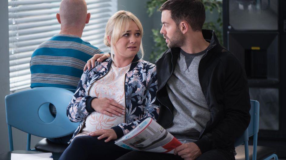 Hollyoaks 14/11 - Cameron And Leela Go To The Hospital For A Scan