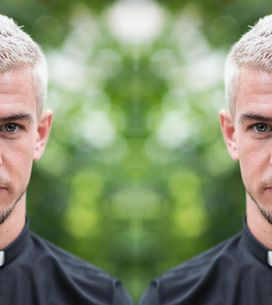 Hollyoaks 16/11 - Joel Welcomes A Newcomer At The Church