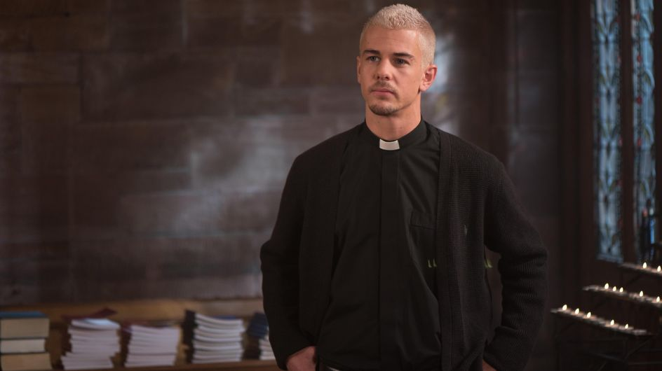 Hollyoaks 17/11 - Joel Is Concerned By His New Parishioner's Thirst For Revenge
