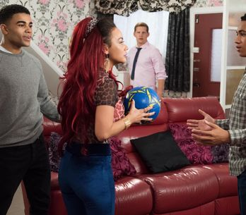 Hollyoaks 18/11 - Myra Regrets Letting Goldie And The Boys Stay