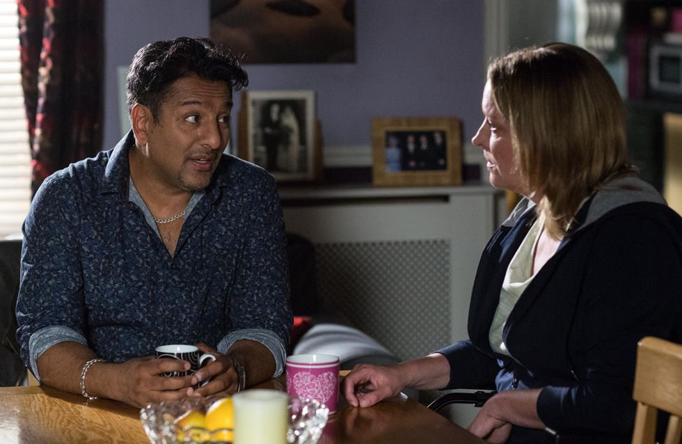 Eastenders 14/11 - Masood Makes A Decision That Would Mean Leaving Walford