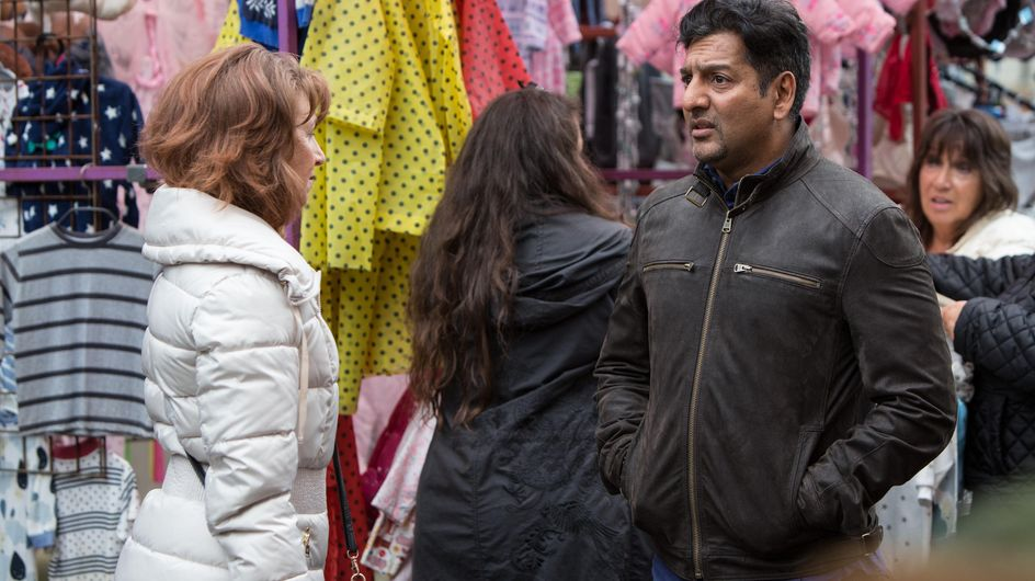 Eastenders 15/11 - Carmel And Denise Try Talking Masood Out Of His Plan