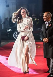 "Kate Middleton à la première du film ""A street cat named Bob"""