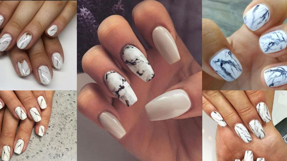 You'd Be *Marbles* Not To Try This Easy Peasy Nail Art Tutorial