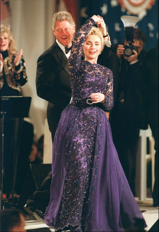 Hillary et Bill Clinton en 1993