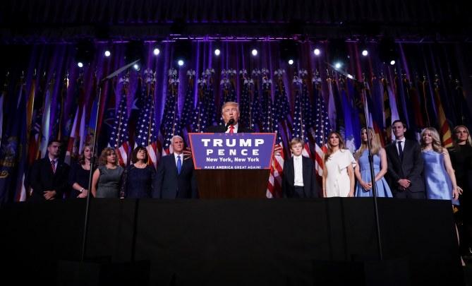 Donald Trump a été élu 45ème président des Etats-Unis