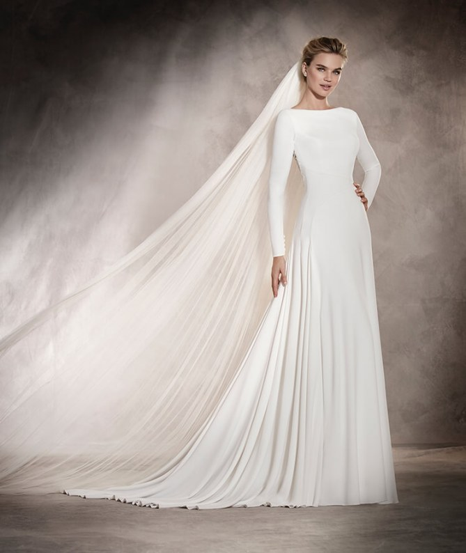 Heiraten im Winter: Das wunderschöne Brautkleid