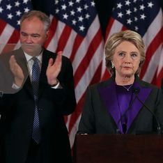 Hillary Clinton: Todavía no hemos roto el techo de cristal, pero algún día, alguien lo hará