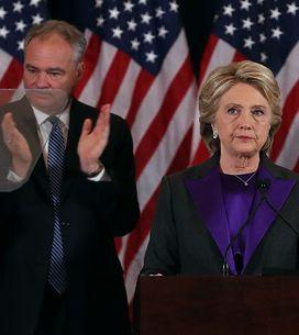 Hillary Clinton: Todavía no hemos roto el techo de cristal, pero algún día, alg