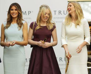 Melania, Tiffany et Ivanka Trump