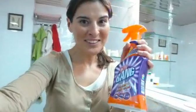 Limpieza, mujeres y Cillit Bang