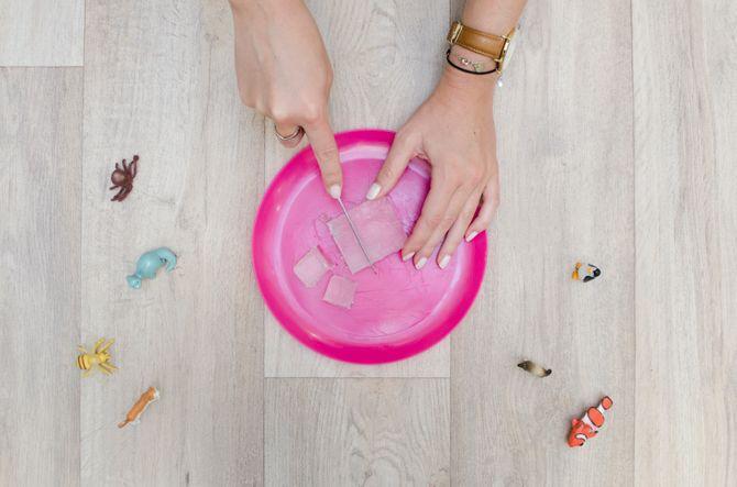 DIY savon -surprise