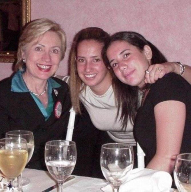 Hillary Clinton aux côtés de Margot Gerster il y a quelques années